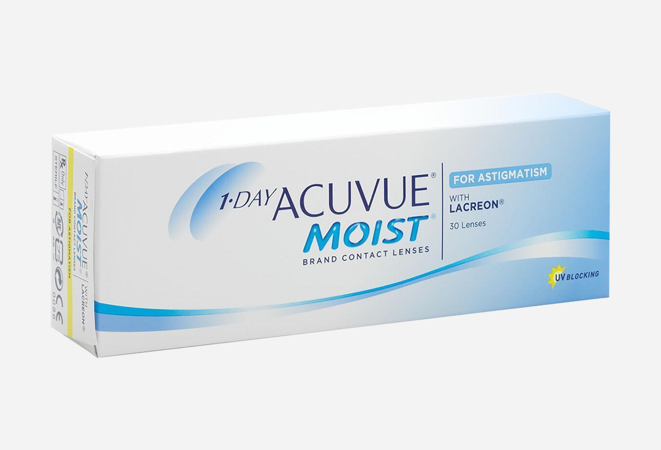 Bilde av 1-day Acuvue Moist For Astigmatism 30 Stk