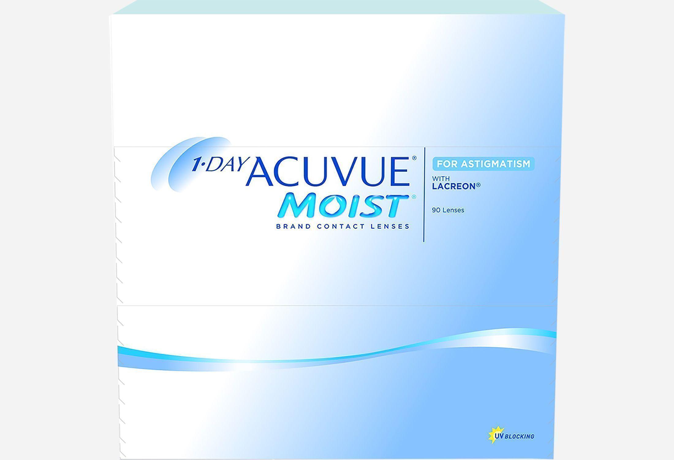 Bilde av 1-day Acuvue Moist For Astigmatism 90 Stk