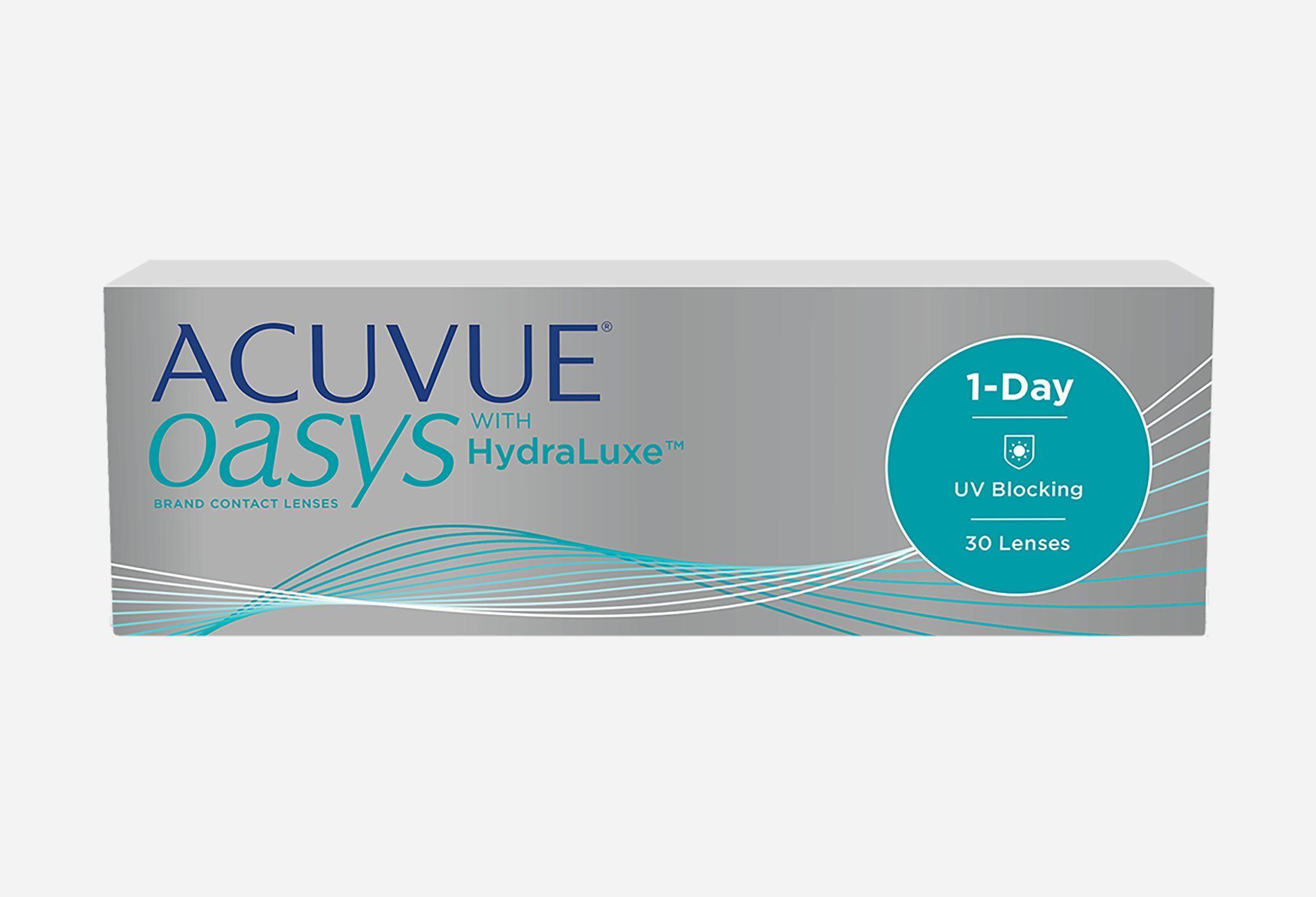 Bilde av Acuvue Oasys 1-day With Hydraluxe 30 Stk