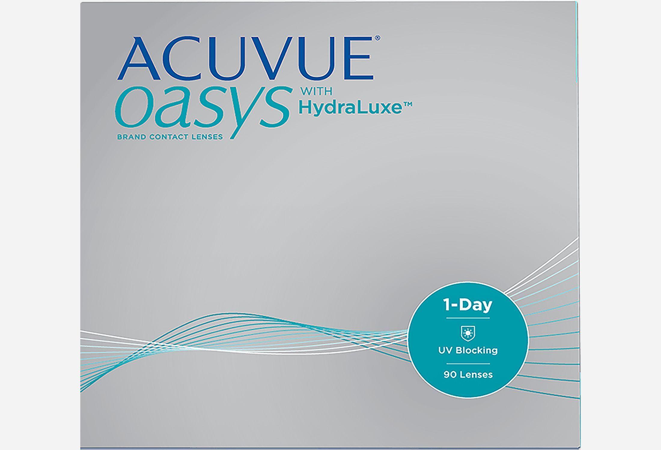 Bilde av Acuvue Oasys 1-day With Hydraluxe 90 Stk