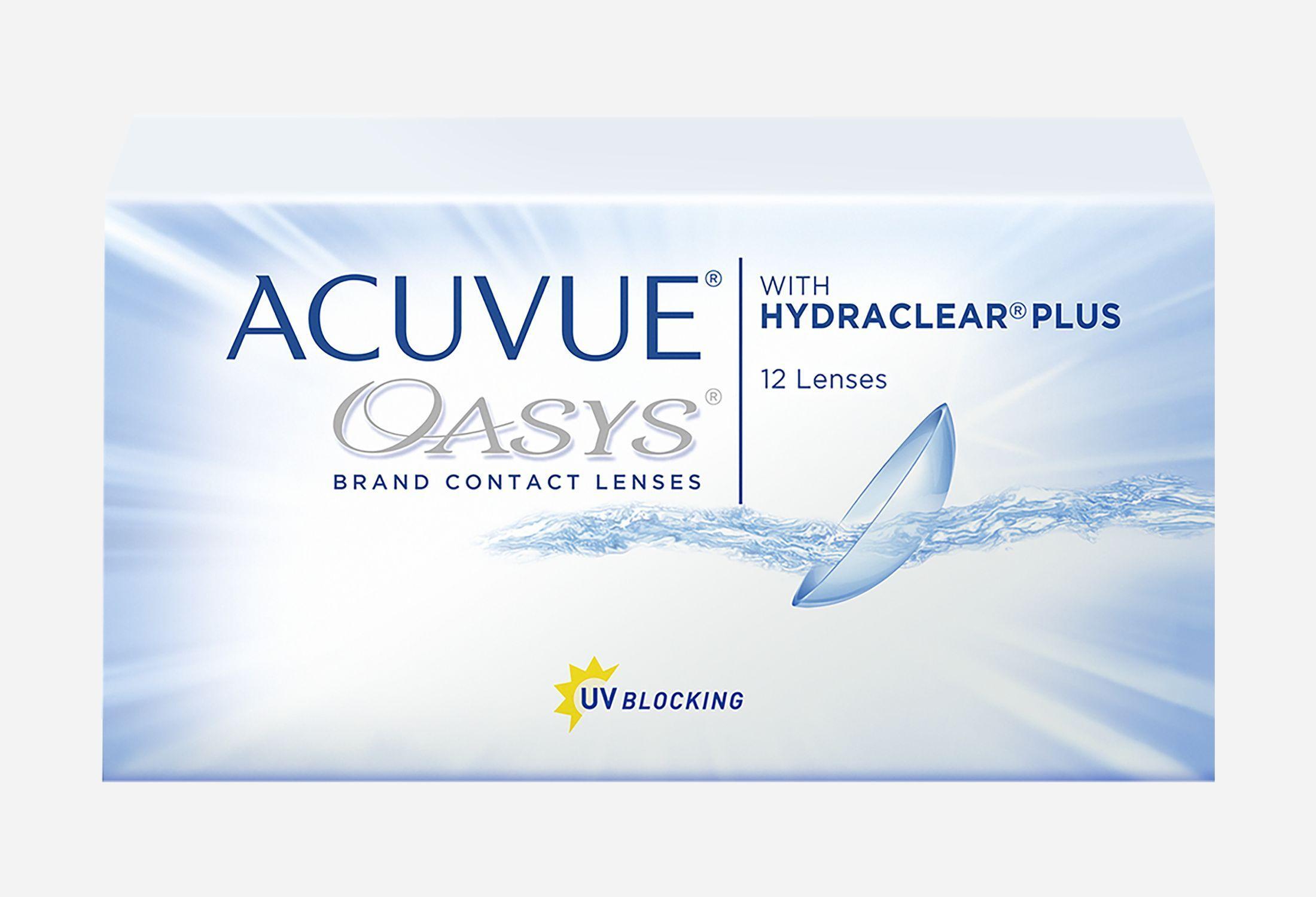 Bilde av Acuvue Oasys With Hydraclear Plus 6 Stk