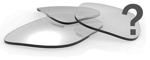 Ulike brilleglass