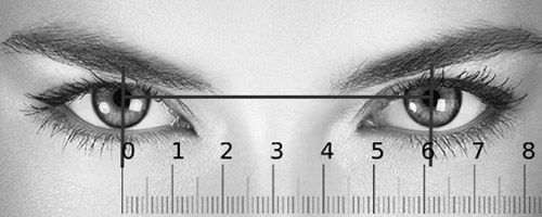 Slik måler du pupilleavstand